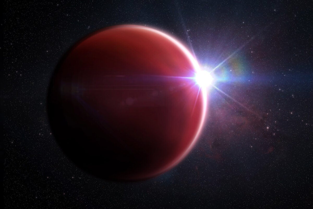 Jupiter-like exoplanet.