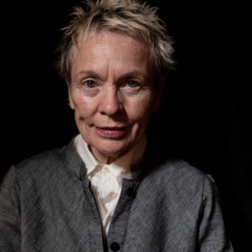 Laurie Anderson.