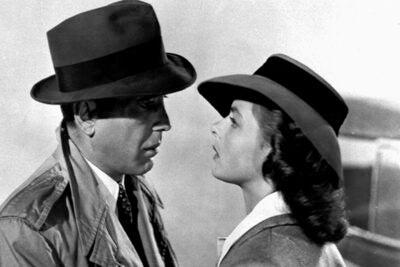 Ingrid Bergman Humphrey Bogart.