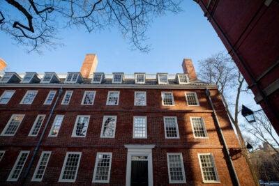 Massachusetts Hall at Harvard