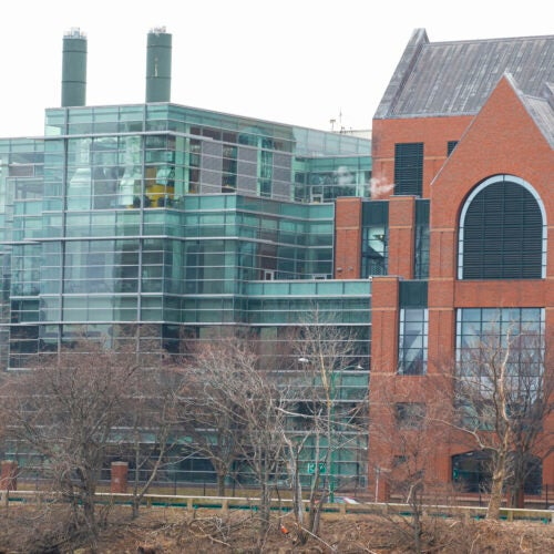 Former Genzyme plant on Soldiers Field Road,