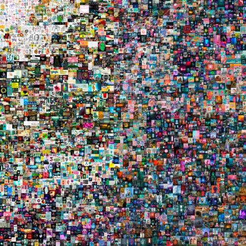 """""""Everydays — The First 5000 Days"""" digital art."""