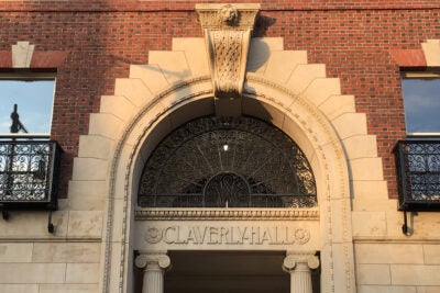Claverly Hall exterior.