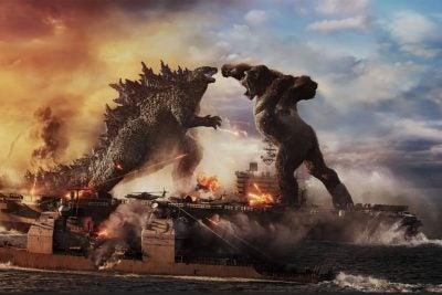Godzilla vs. Kong promotional image.