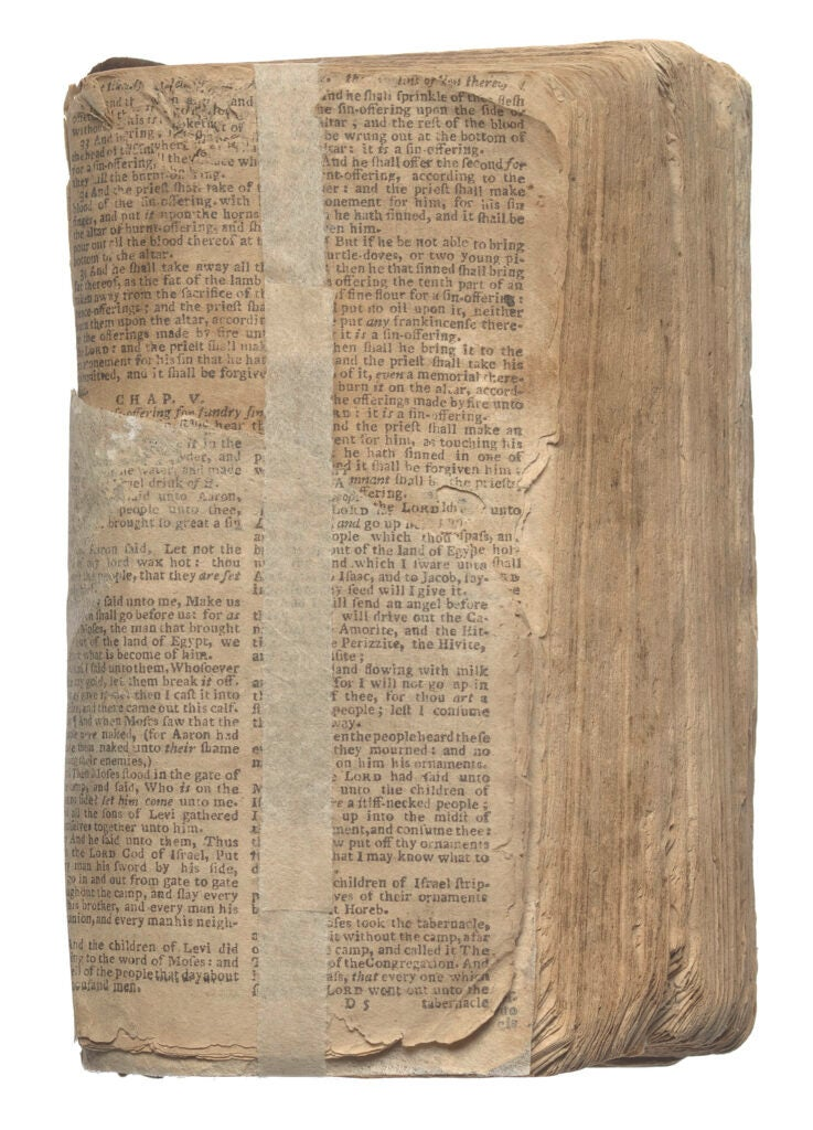 An old bible.
