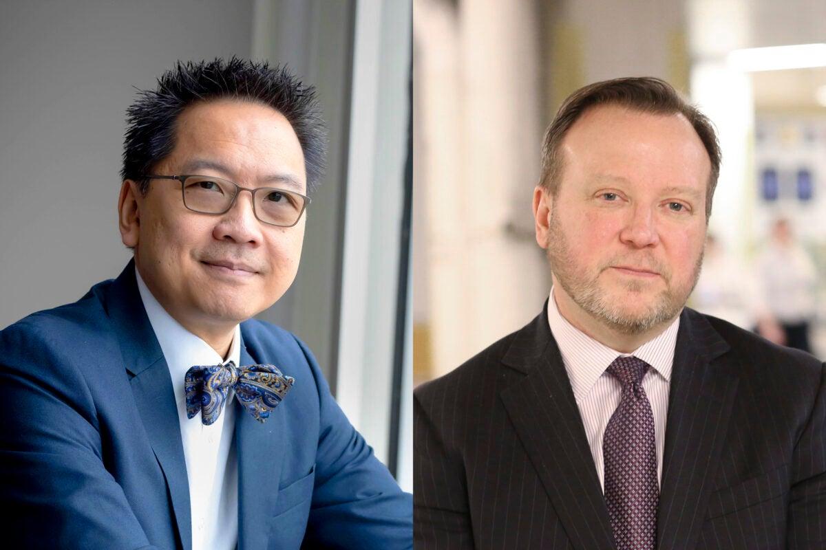 Giang Nguyen and Paul Biddinger