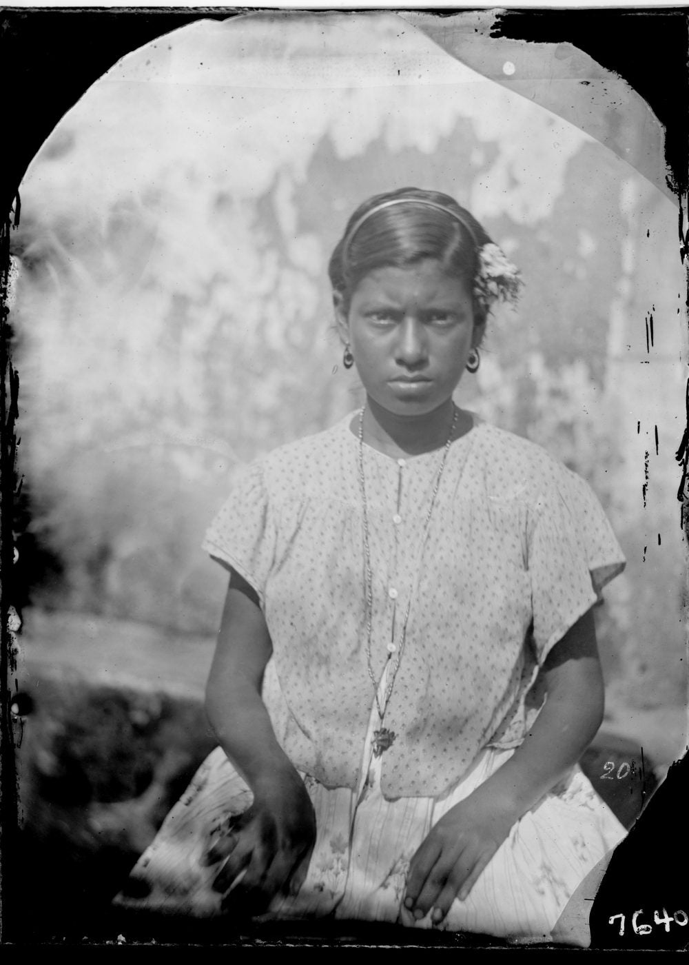 Photo of an unnamed Brazilian woman
