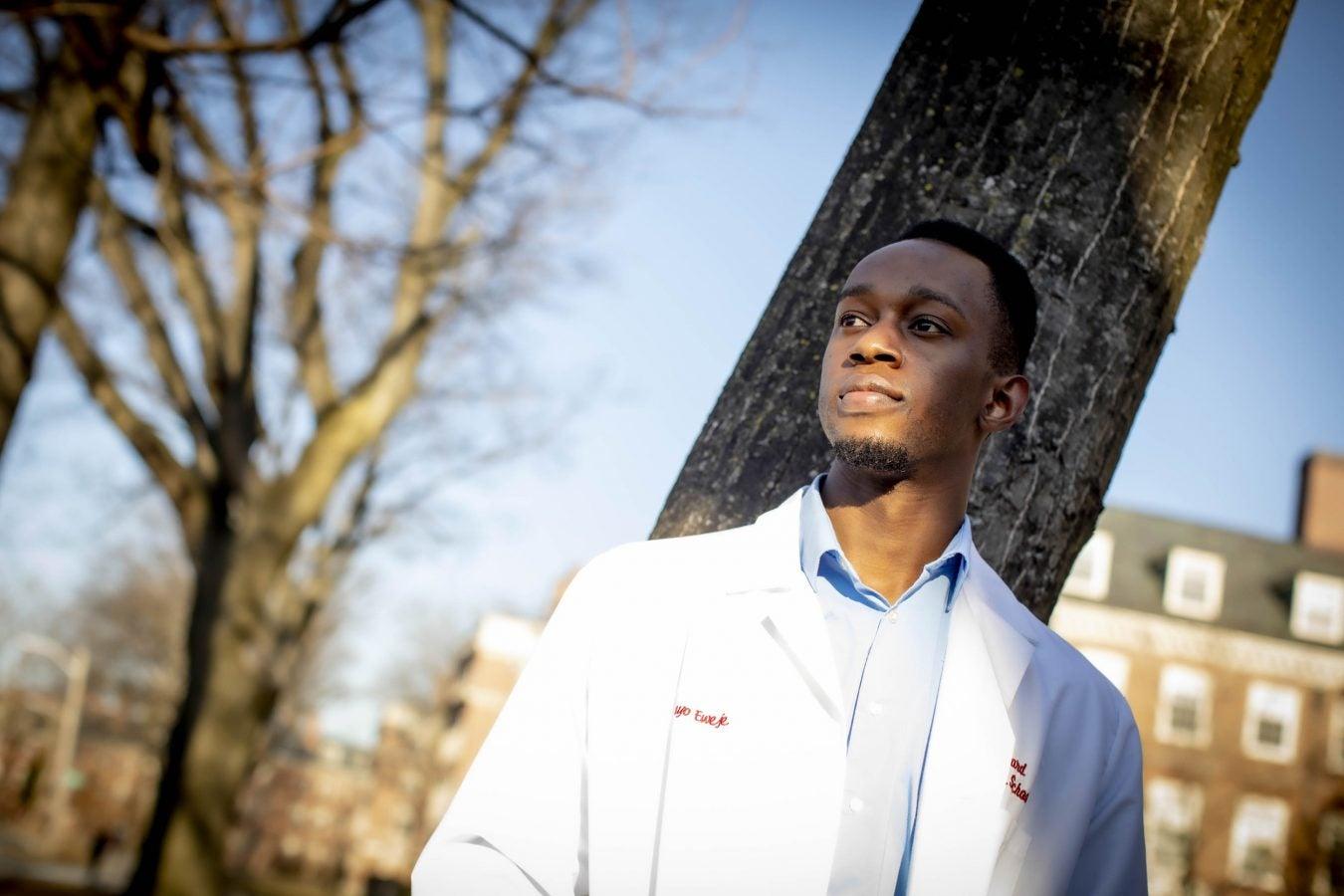 Harvard University Medical School student Feyisayo Eweje is pictured.
