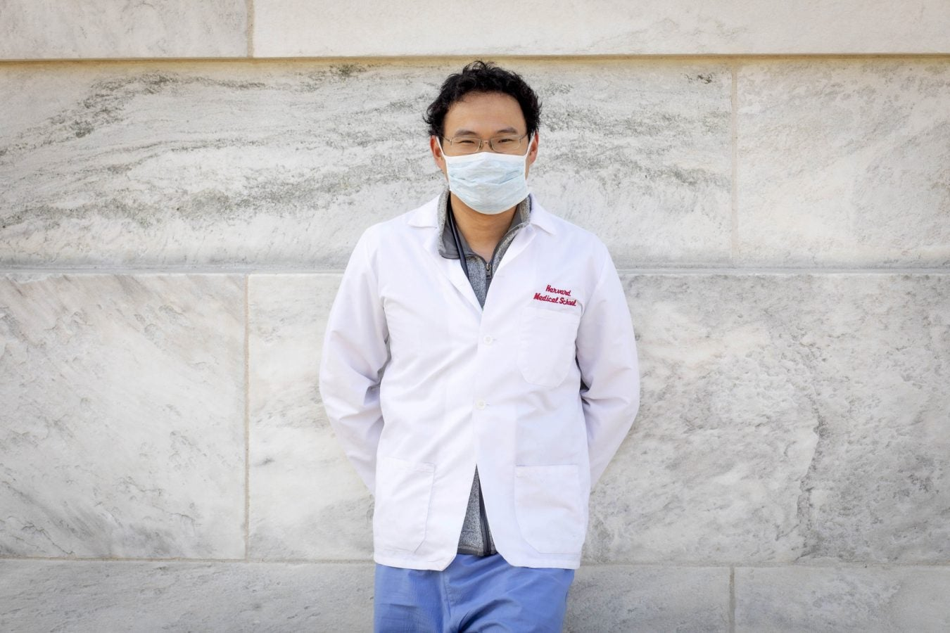 Harvard University Medical School student Fang Cao is pictured.