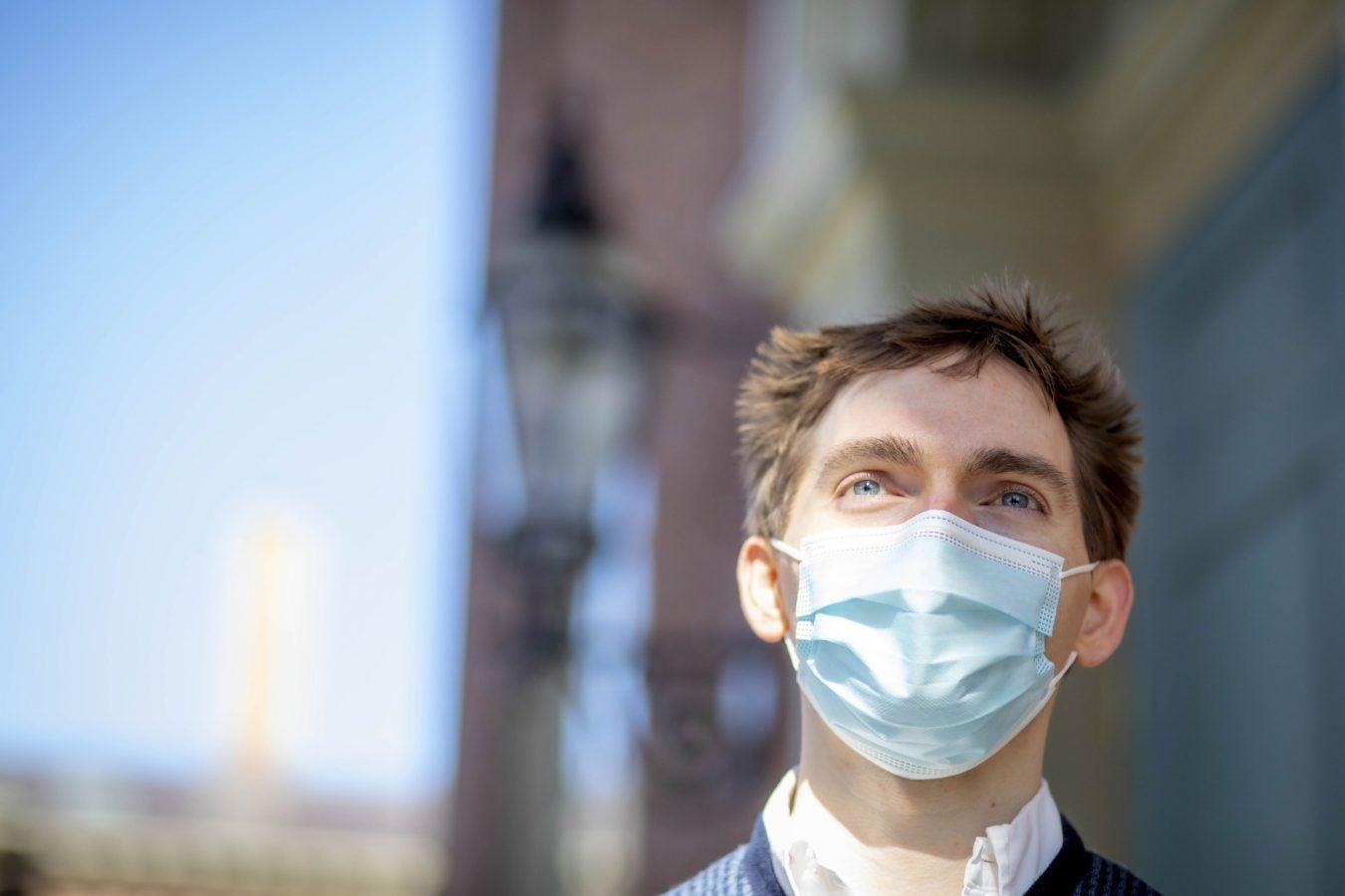 Harvard University Medical School student Grant Schleifer is pictured.
