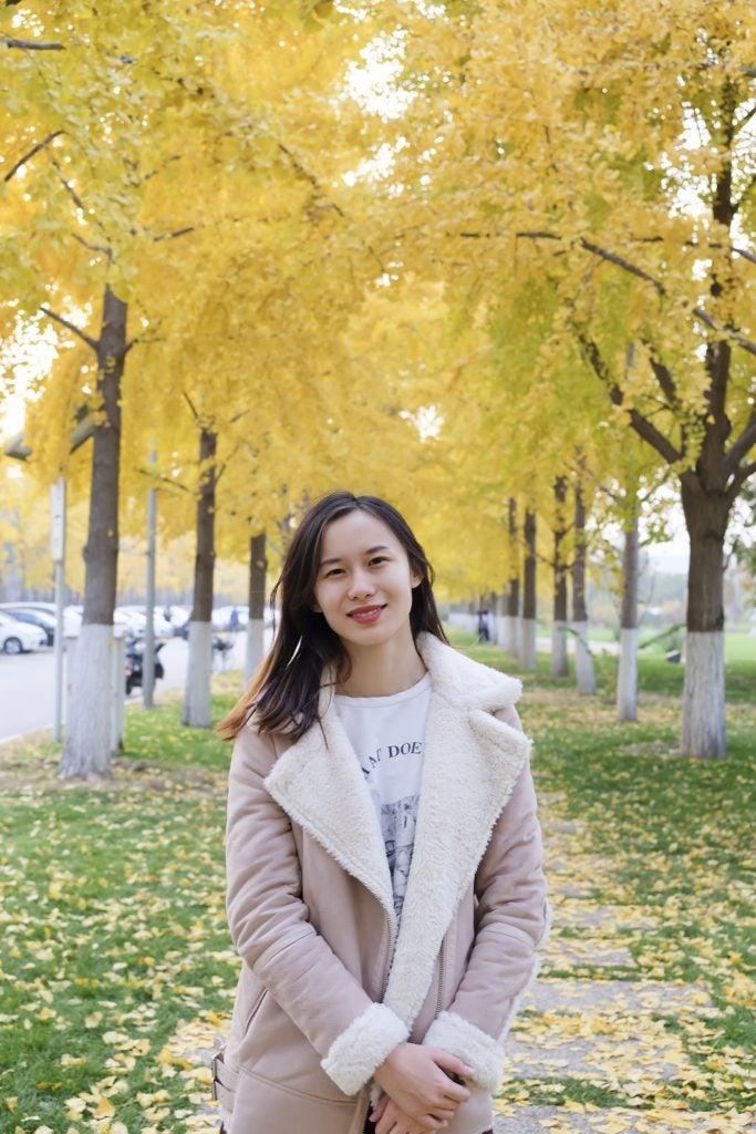 Cristina Liu is pictured.