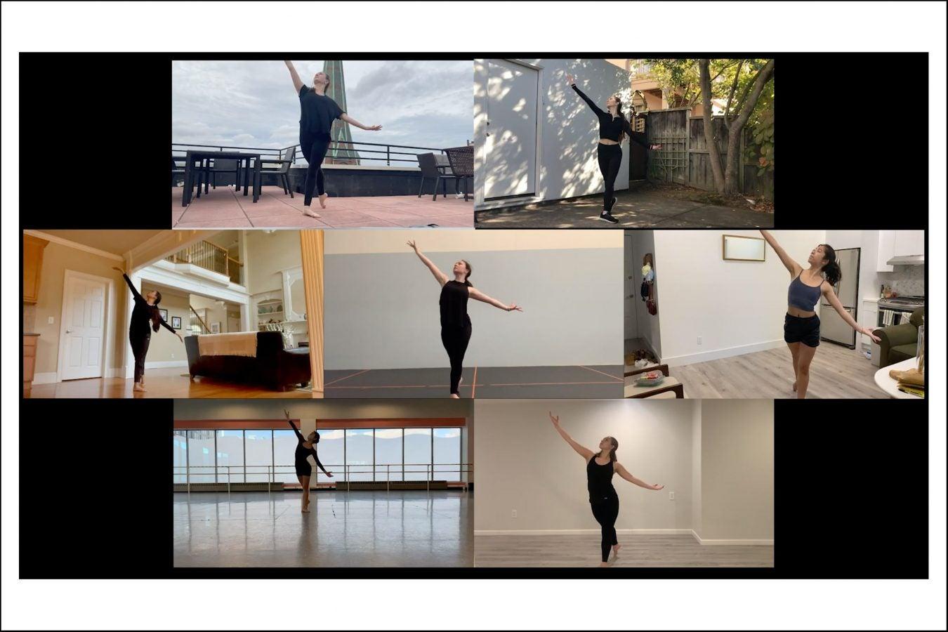 Harvard ballet company.