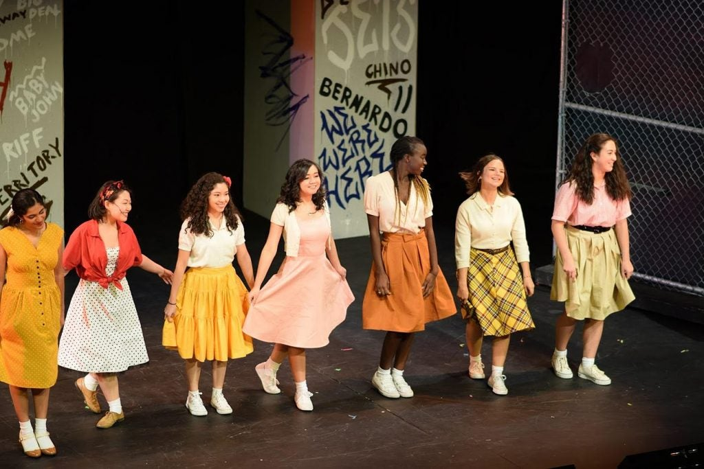 Starring in West Side Story.