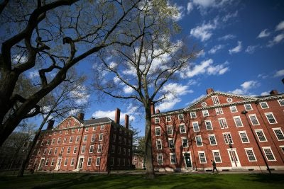 Harvard Yard.