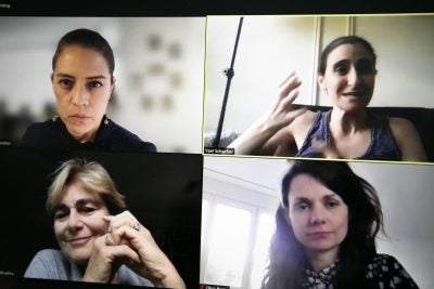 Harvard Global Health Institute and FXB Center's virtual panel on Zoom.