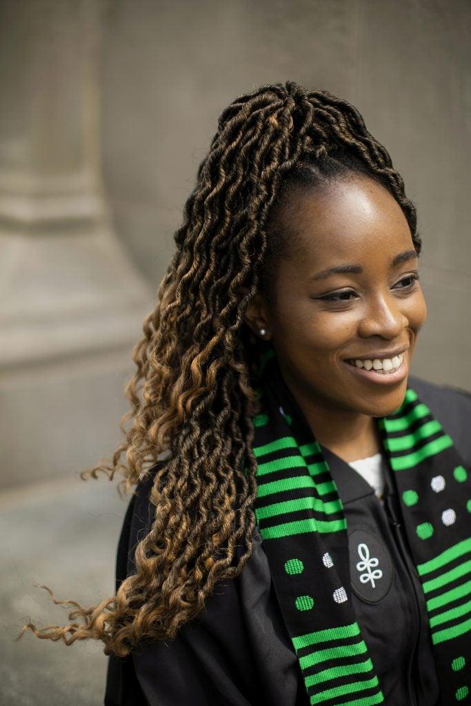 Nina Uzoigwe is pictured.