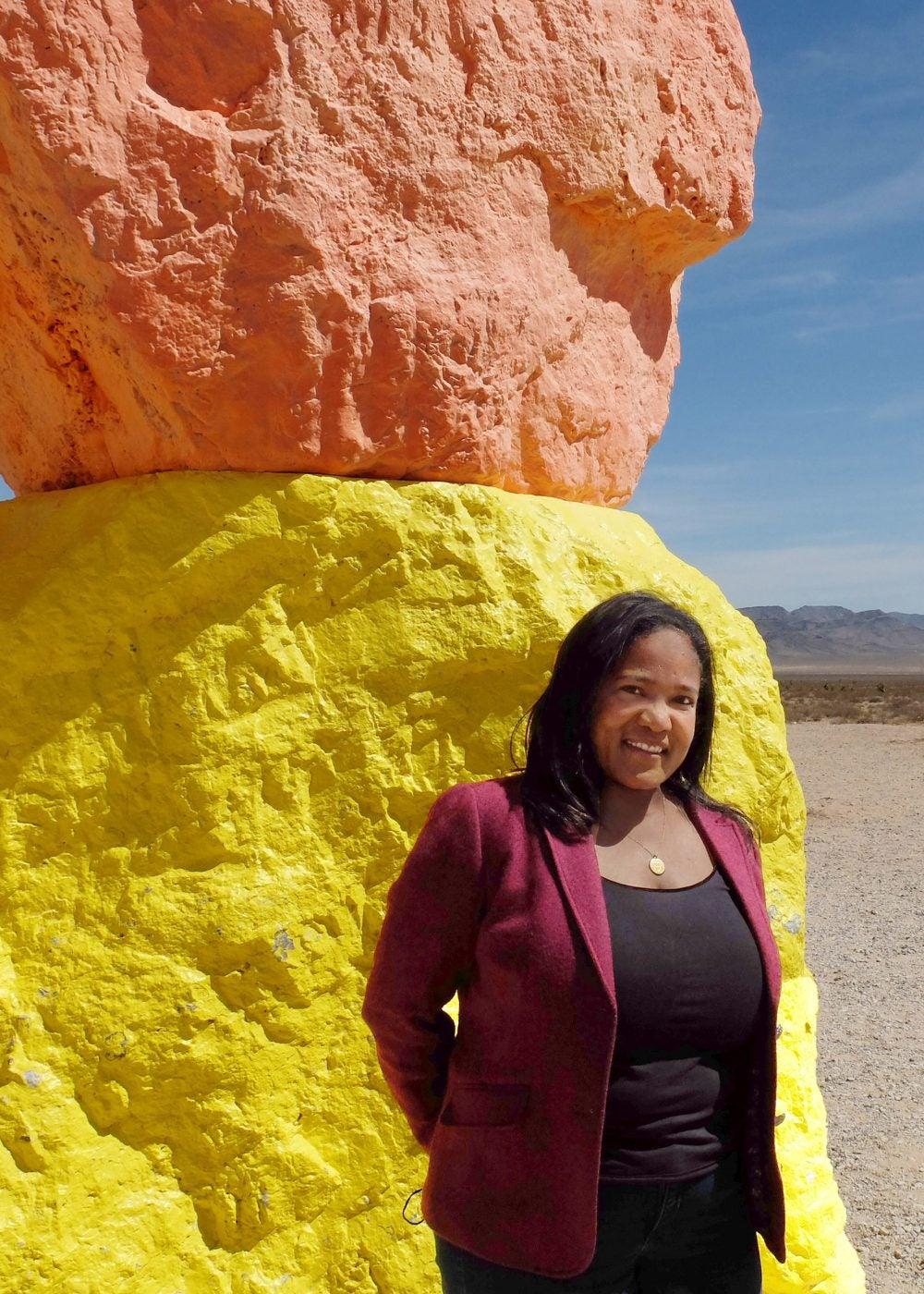 Harvard Extension School graduate Carmen Beals, A.L.M. '21.