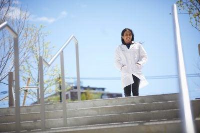 Sneha Dutta , Ph.D. '21.