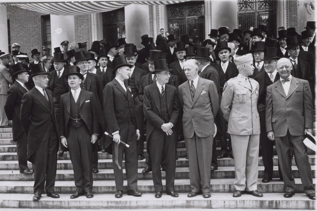 Secretary of State George Marshall.