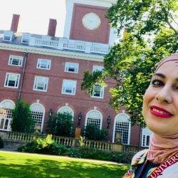 Rawan Alhawamdeh has her goals in focus