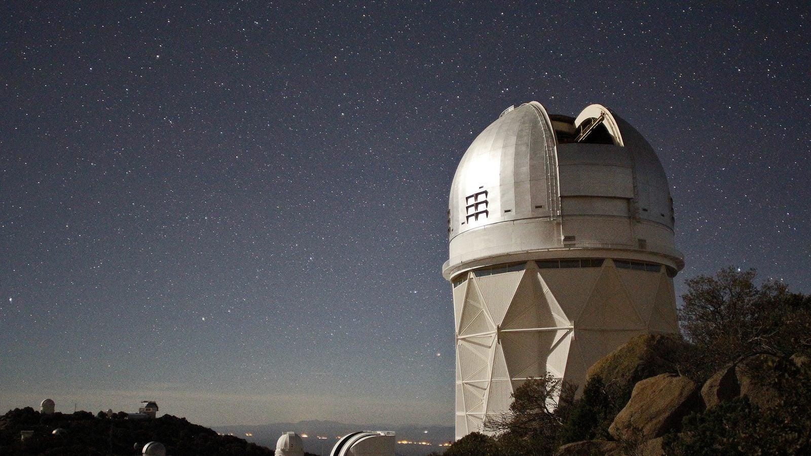 Mayall 4m Telescope.