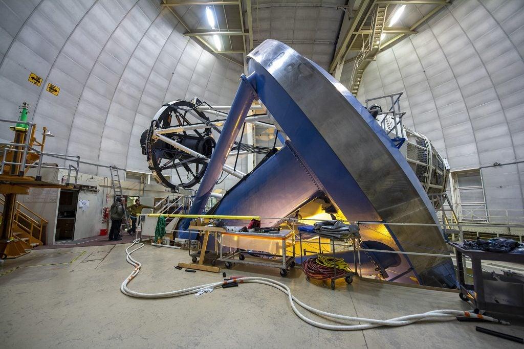 The Dark Energy Spectroscopic Instrument.