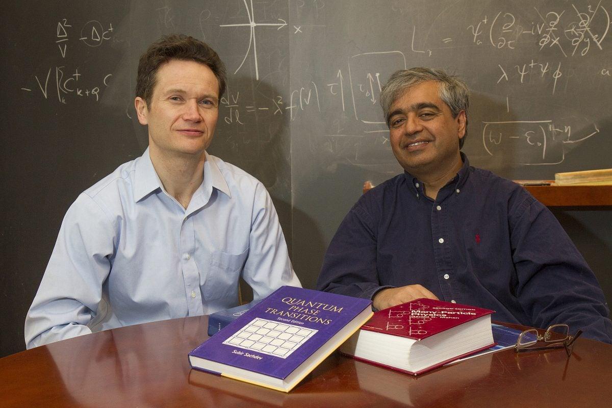 Eugene Demler and Subir Sachdev.