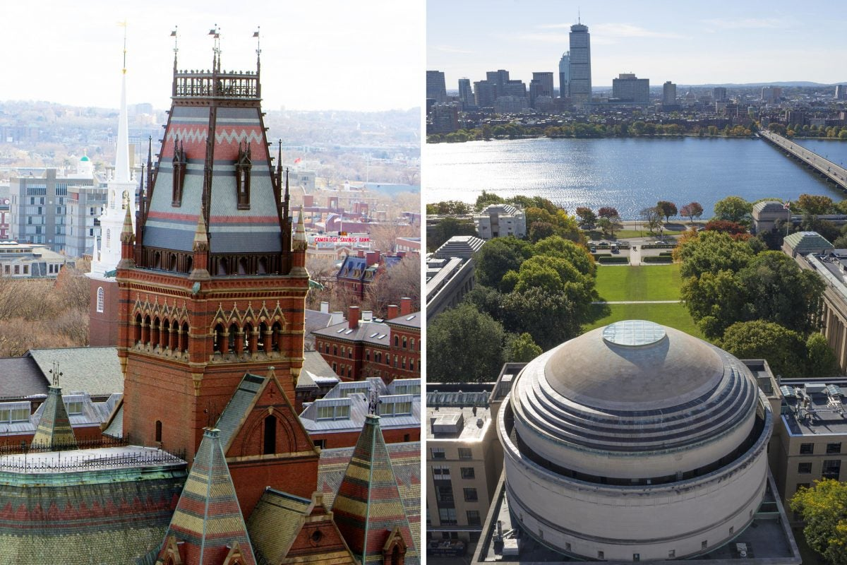 Harvard and MIT