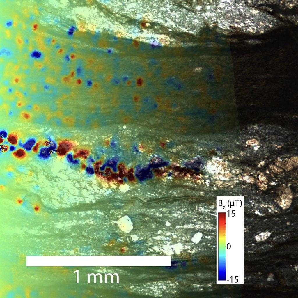 Microscope image.