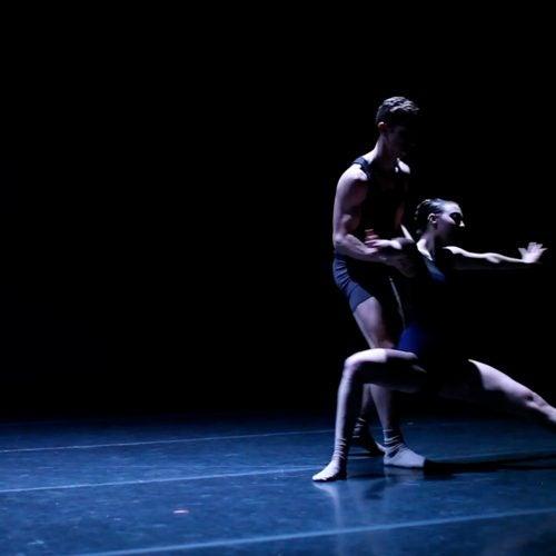 Dancers onstage.
