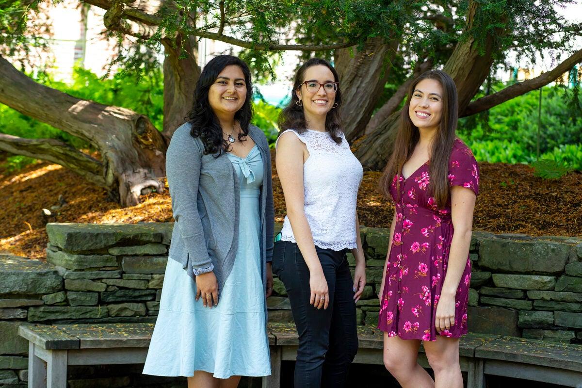 Maria Perez Franco, Tatiana Patino, and Amanda Flores.