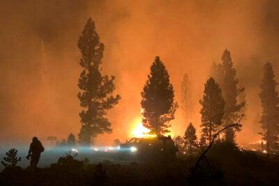 Wildfires.