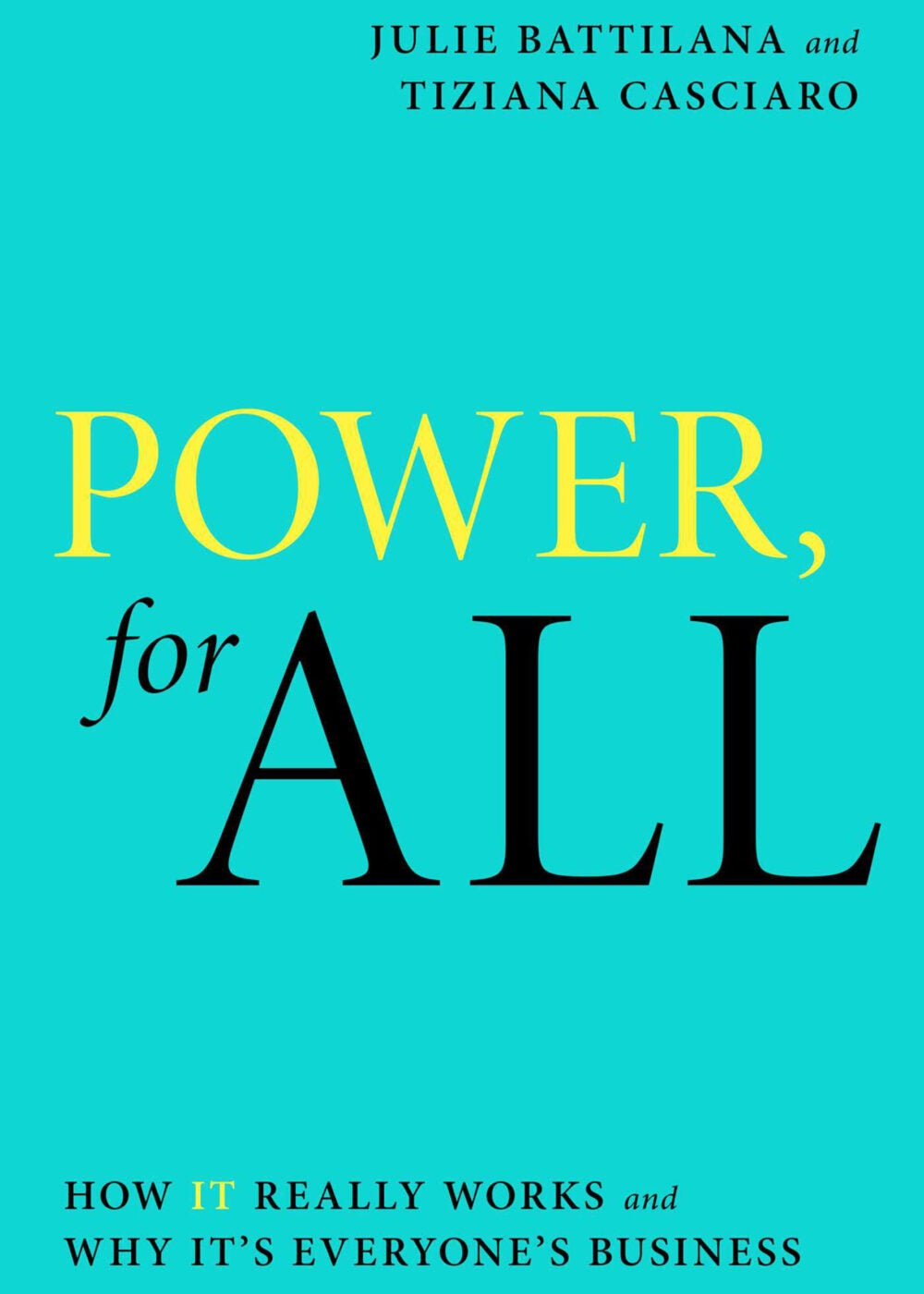 Power, for All book cover.