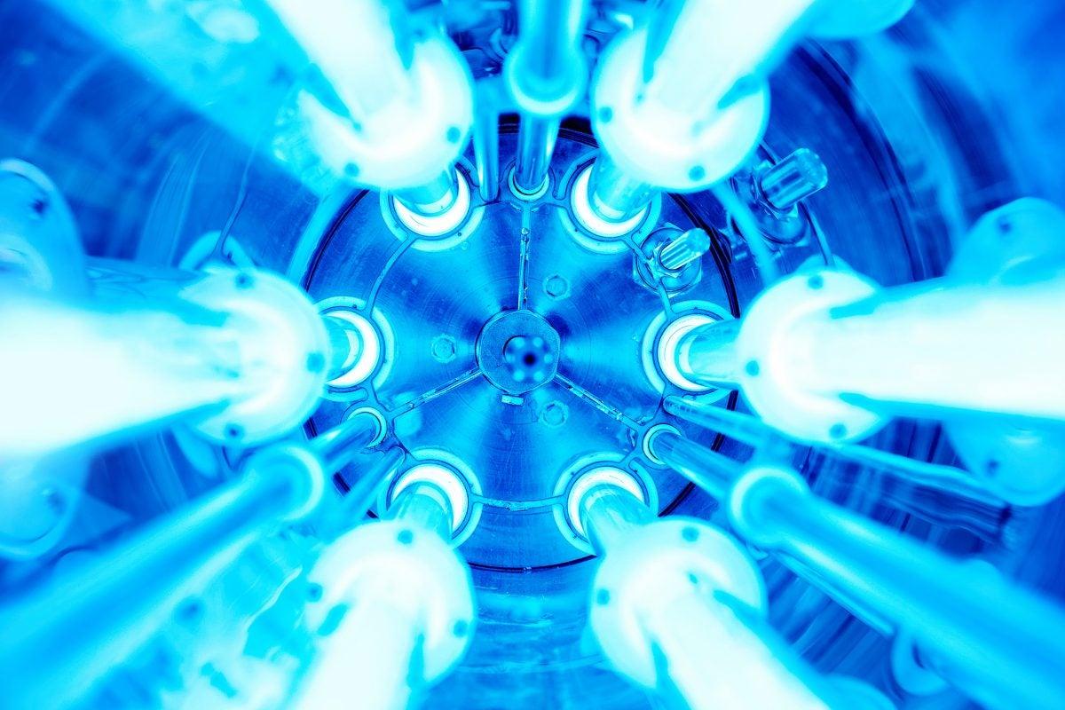 UV light.