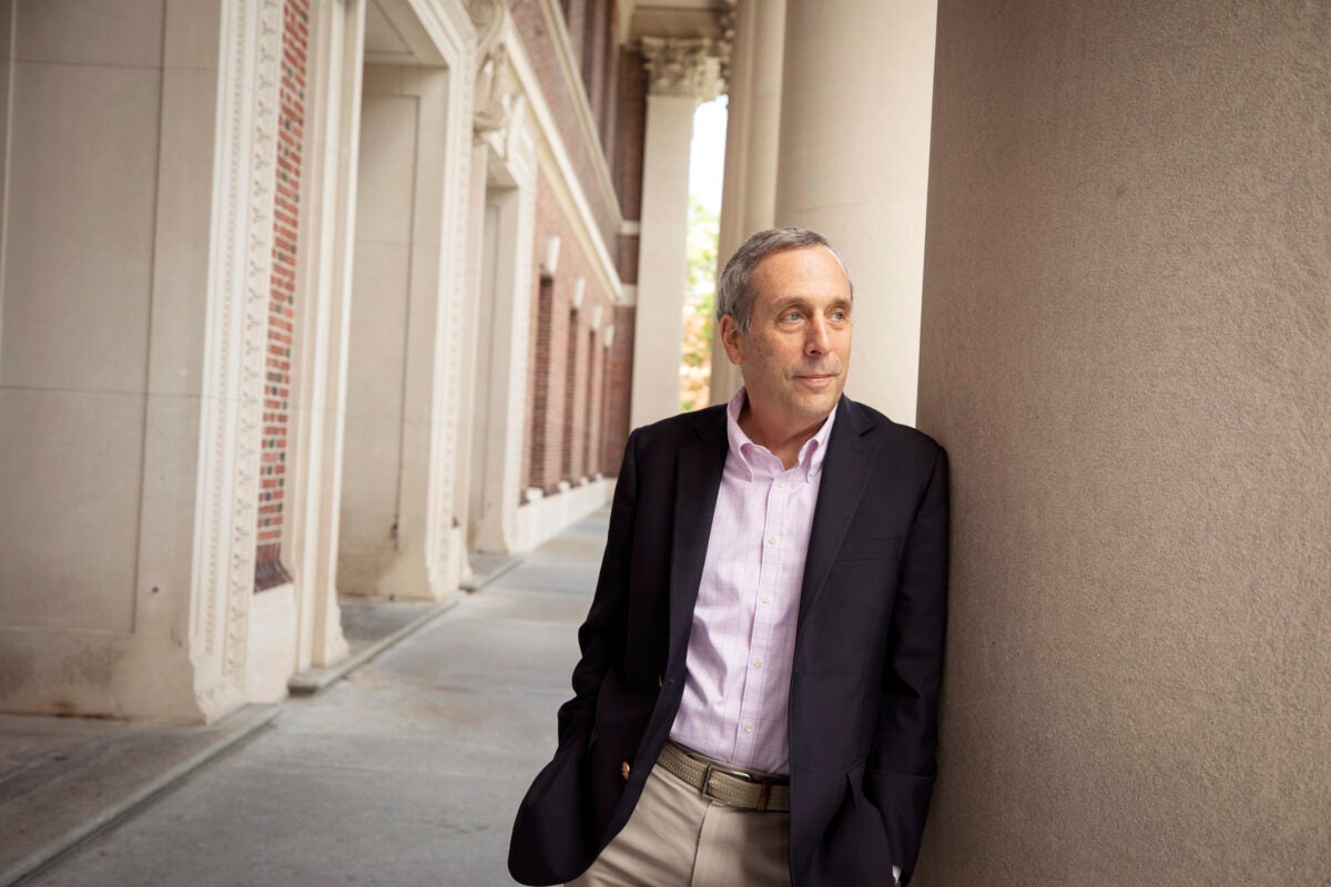 President Larry Bacow.