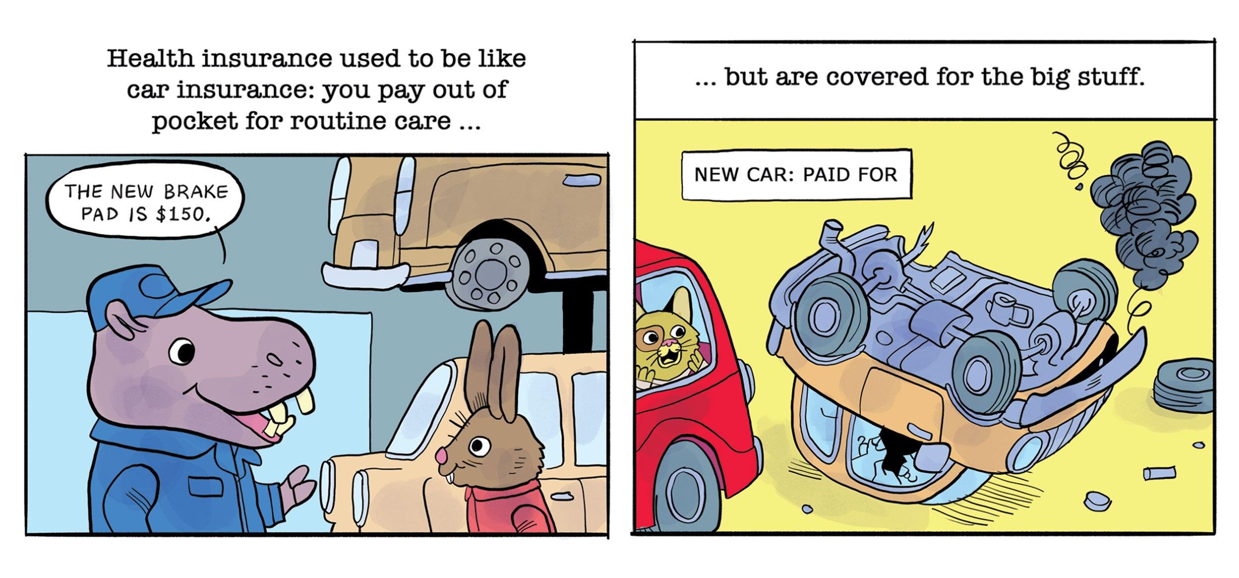 Comic strip.