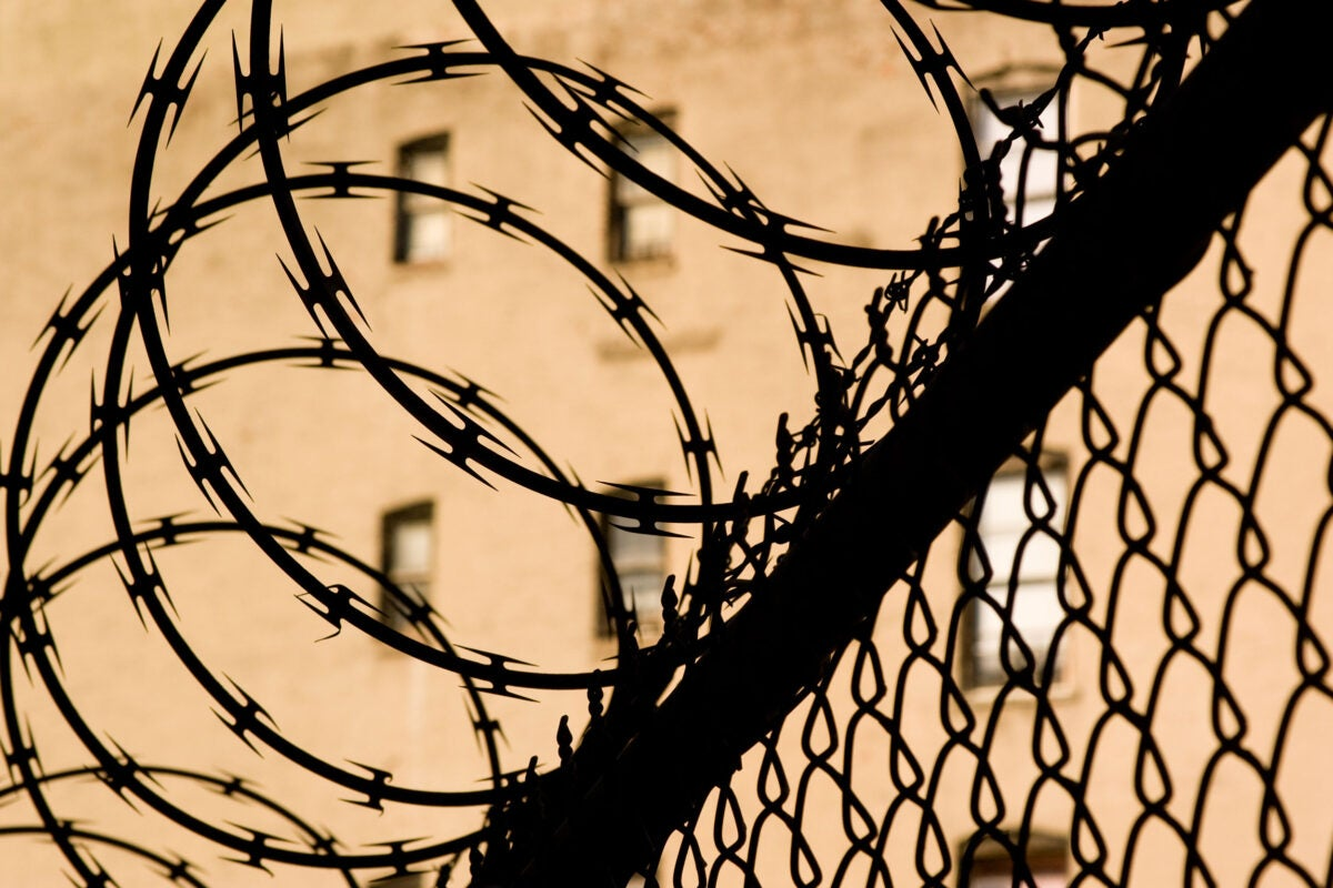 Prison Fence.