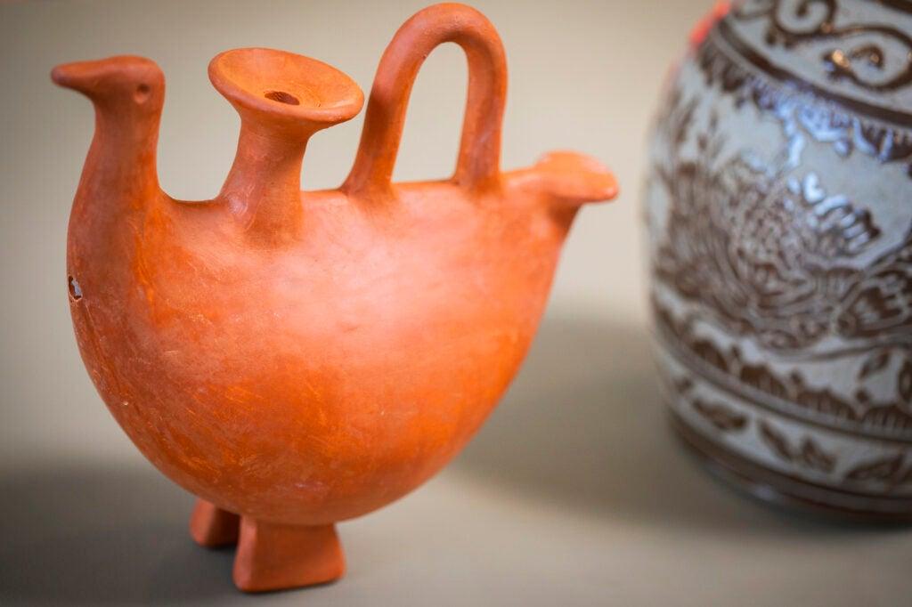 Ceramic piece.