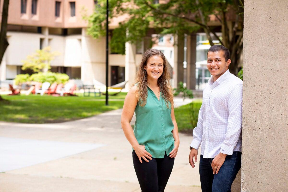 Nina and Soltan Bryce.