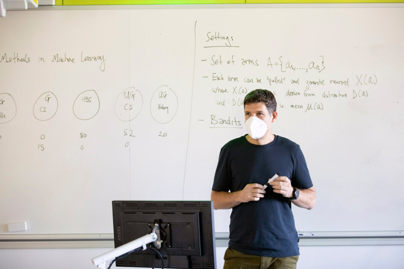 "Yaron Singer teaches: ""Adaptive Methods in Machine Learning."""