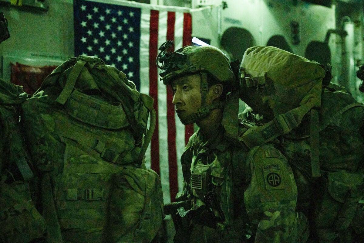 U.S. Air Force withdrawal.