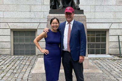 Philip Lovejoy and Vanessa Liu.