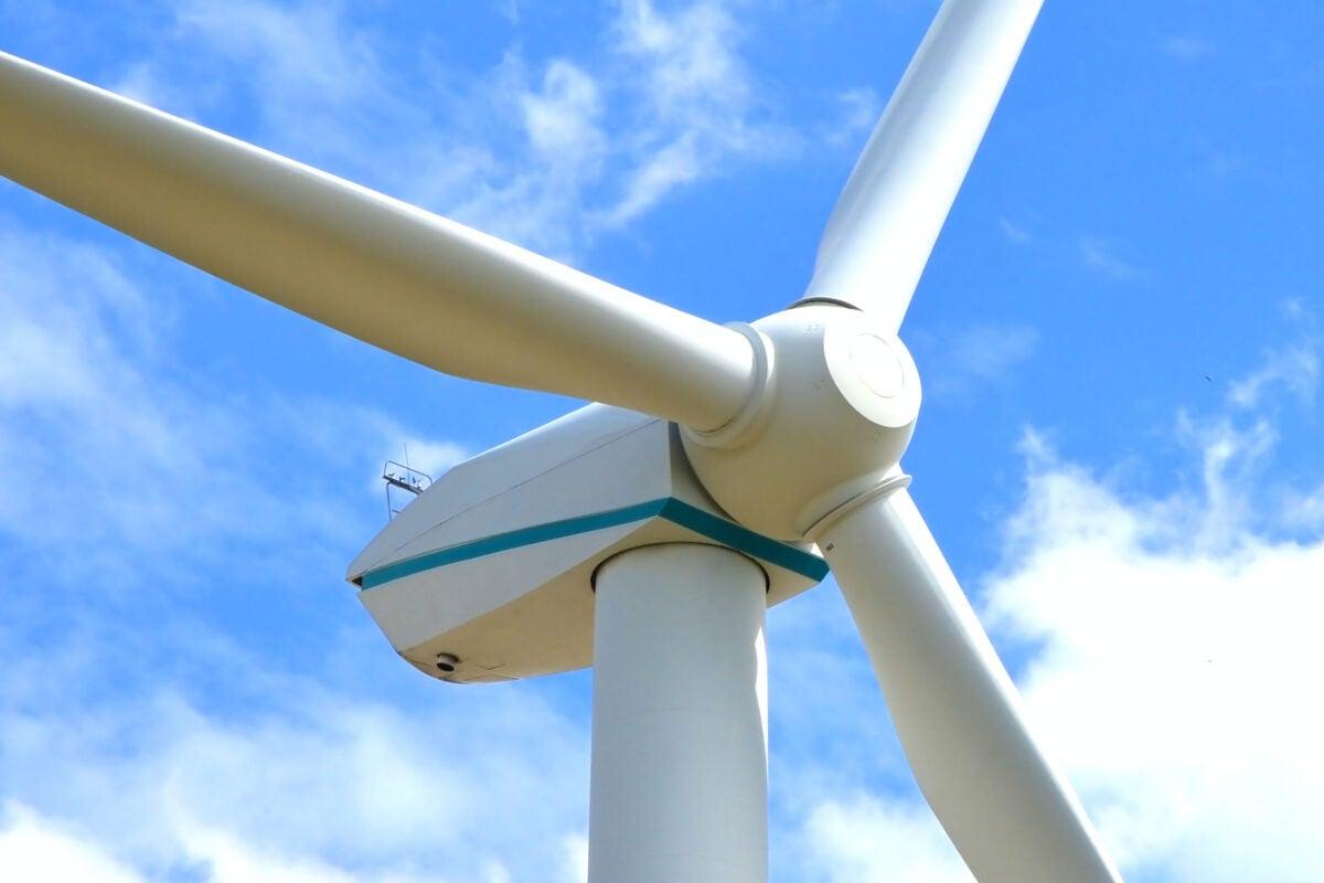 Wind turbine.