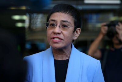 Maria Ressa.