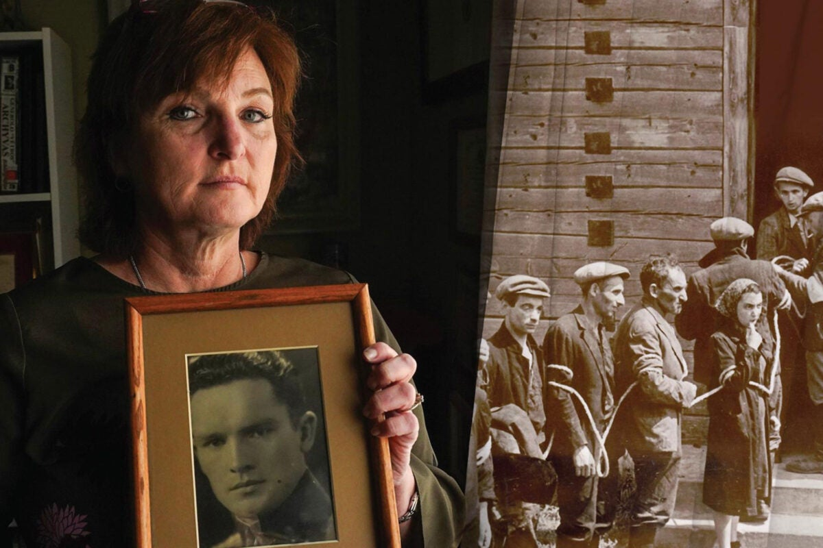 """""""It's completely unclear how many Lithuanians he actually saved from the communists … But of his role in killing Jews, there's so much evidence,"""" said Silvia Foti, author of """"The Nazi's Granddaughter."""""""